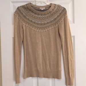 Merona Brown Sweater